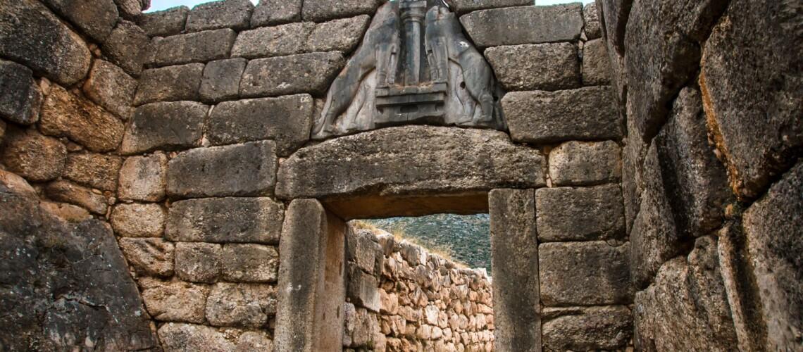 Gate in Mycene